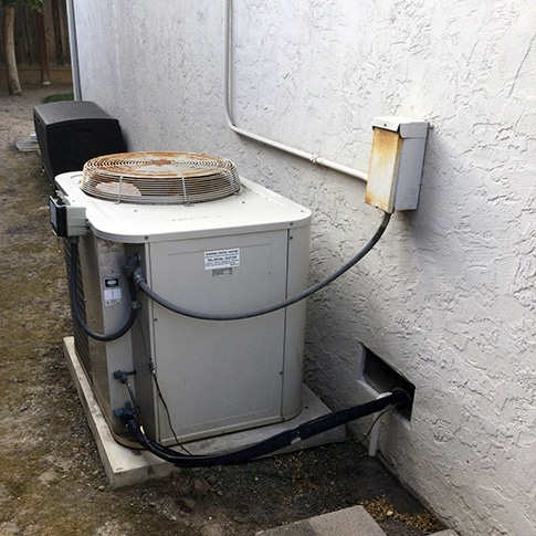 Air Conditioning & Furnace Replacment in San Jose, CA | Before 01