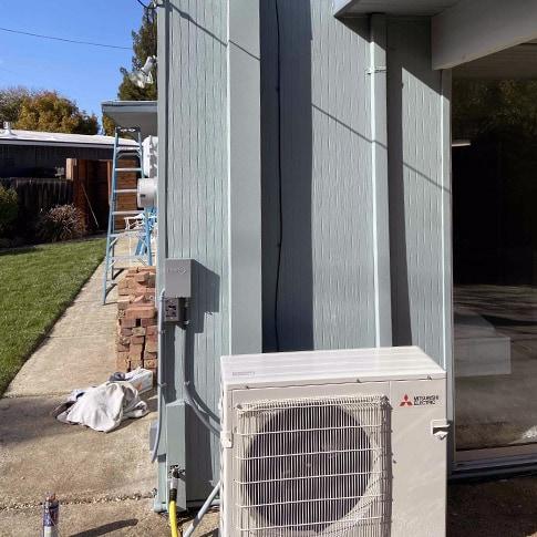 Multi Zone Mini Split Installation in San Jose, CA | Outdoor